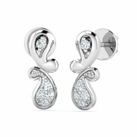 Diamond Earrings Studs 0.07ct Natural Certified Solid Gold