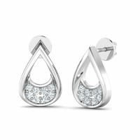 Diamond Earrings Studs 0.11ct Natural Certified Solid Gold Wedding
