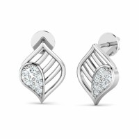 Diamond Studs 0.12ct Natural Certified Solid Gold Anniversary