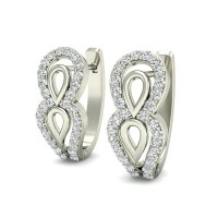 Diamond Earrings Studs 0.33 ct Natural Certified Solid Gold Anniversary