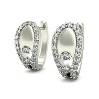 Diamond Earrings for Women 0.31 ct Natural Certified Solid Gold Studs