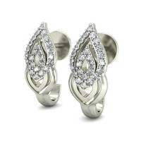 Gold Diamond Earrings 0.33 ct Designer Studs