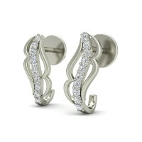 Diamond Studs 0.12 ct Natural Certified Solid Gold Earrings