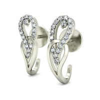 Diamond Earrings Studs 0.25 ct Natural Certified Solid Gold Designer