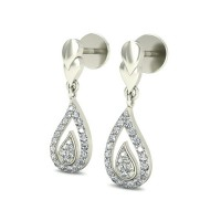 Diamond Earrings for Women 0.3 ct Natural Certified Solid Gold  Studs