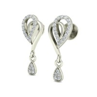 Diamond Earrings 0.30 ct Natural Certified Solid Gold Wedding Anniversary