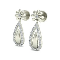 Diamond Studs 0.33 ct Natural Certified Solid Gold Designer Earrings