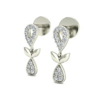 Diamond Earrings for Women 0.20 ct Natural Certified Solid Gold Studs