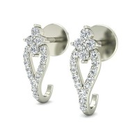 Diamond Earrings for Women 0.31 ct Natural Certified Solid Gold Beautiful Studs