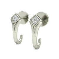Diamond Studs 0.05 ct Natural Certified Solid Gold Designer Earrings