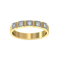Diamond Ring Price 0.15 Carat Natural Certified Diamond Yellow / White Gold
