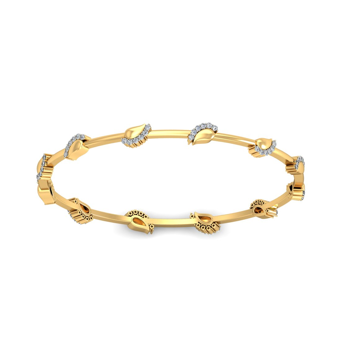 diamond bangles indian designs 072 ct solid gold weekend