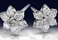 Diamond Earrings Studs 1.00 ct 14k Natural Certified Solid gold Hot Deal
