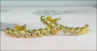 Gold Diamond Earrings 0.50 ct Diamond Wedding Anniversary Hot Deal