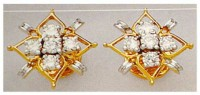 Diamond Earrings for Women 0.20 ct 18k Natural Certified Solid gold Hot Deal
