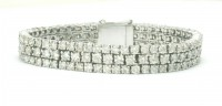 Bracelets for Women Natural Diamond 10.00 ct 18k solid gold Hot Deal Natural Certified