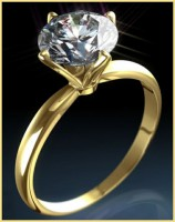 Single Diamond Ring 0.75 Ct Natural Diamond 18k solid gold solitaire ring Hot Deal  Certified