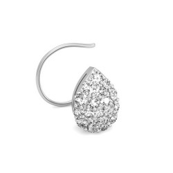 Solitaire Diamond Nose Pin 0.274 Ct Natural Diamond Solid Gold Party