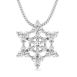 Diamond Pendant Necklace 0.36 Ct Natural Diamond Solid Gold Party