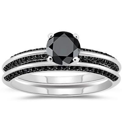 cheap black 4 00 carat engagement rings solitaire gold