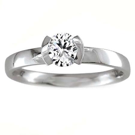 1.5 Carat Solitaire Diamond Ring White Gold