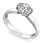 1.01 Carat Solitaire Diamond Ring White Gold Wedding Anniversay Natural Certified