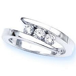 1 Carat Solitaire Diamond Ring White Gold Engagement Anniversay Natural Certified