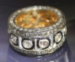 Antique Style Rings 4.05 Carat Natural Certified Diamond 925 Sterling Silver BFestive