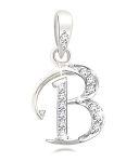 Diamond Letter Necklace 0.25Ct White Gold