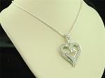 Small Diamond Necklace Set 1.44 Ct Solid Gold Natural Certified