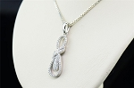 Latest Diamond Pendant Sets 0.22 Ct Solid Gold Natural Certified