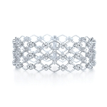 Cuff bracelets 5.00 Ct Diamond Solid Gold Natural Certified