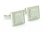 1.25 Ct Untreated Diamond Solid Gold Men'S Certified Cufflinks