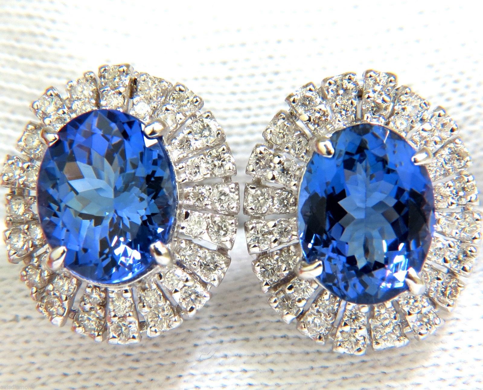 Gemstone Earrings Gemstone Stud earrings Sapphire Earring