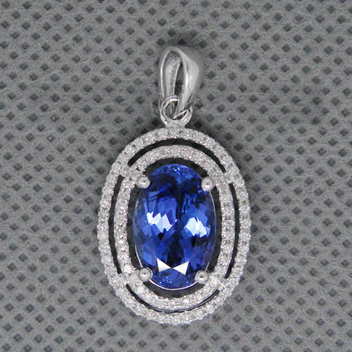 gemstone necklace designs ct diamond blue sapphire gold