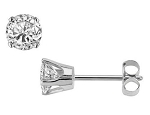 0.35Ct Natural Diamond Solid Gold Men'S Single Stud Certified