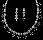 Wedding jewelry Set 6.15Ct Diamond Bridal jewelry Set Gold Natural Certified