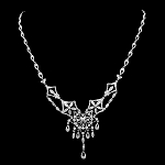 Necklace for Womens 5.00Ct Diamond Gold Wedding Anniversary Natural Certified