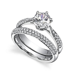 Wedding Rings For Women 2.50Ct Diamond Gold Solitaire Ring Natural Certified