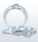 Wedding Ring for Women 2.25 Ct Diamond Gold Bridal Sets Natural Certified