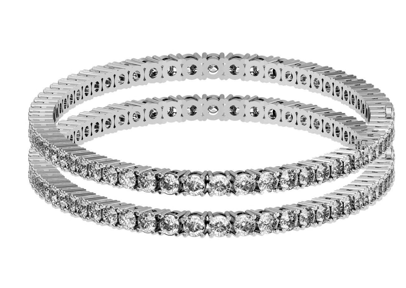 shop bracelet bangle brooke corson diamond single bezel jewelry