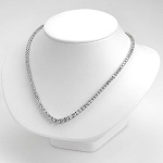 Diamond Solitaire Necklace 8.00Ct Solid White Gold For Wedding Natural Certified