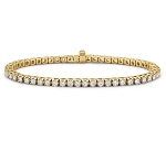 Diamond Tennis Bracelets 3.00 Ct Natural Diamond Solid White Gold Natural Certified