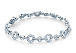 Gold Tennis Bracelets 5.25 Ct Natural Diamond Solid White Gold Natural Certified