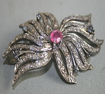 Bridal Brooches 3.08 Carat Ruby Sterling Silver Vintage & Antique Jewelry Natural Certified