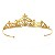 Birthday Tiara 8.00 Carat Natural Rose Cut Certified Diamond Sterling Silver Antique Reprodcution