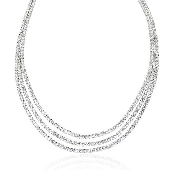 Diamond Solitaire Necklace 15.5 Ct Natural Certified Diamond Solid Gold Natural Certified
