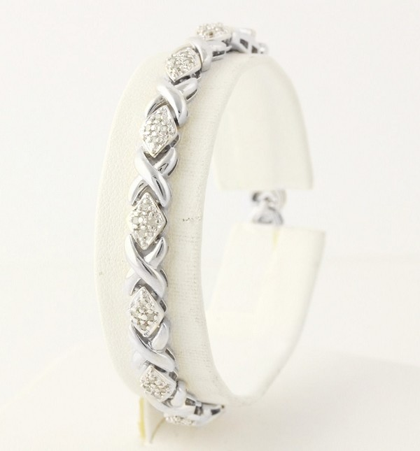 Beautiful Diamond Bracelets 1.4 Ct Natural Untreated Solid Gold Natural Certified