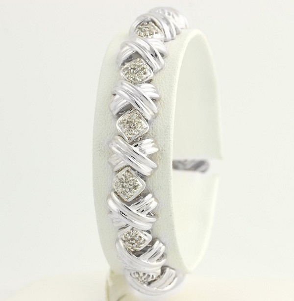 Beautiful Diamond Bracelets 2 Ct Natural Untreated Solid Gold Natural Certified