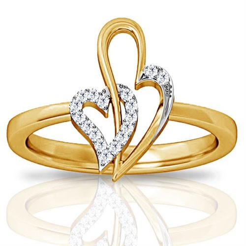 Diamond Ring Designs For Female Natural Round Certified Diamond 0.17 Ct Solid Gold  Weekend